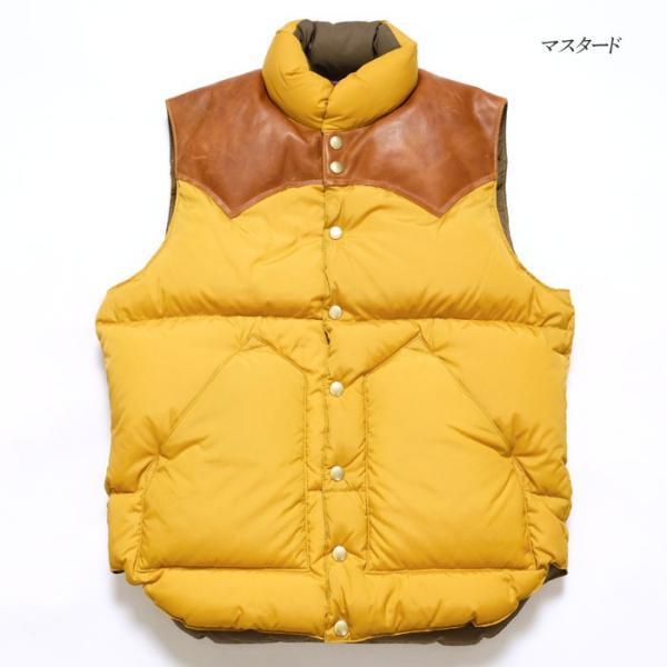 WAREHOUSE × Rocky Mountain Featherbed (ウエアハウス×ロッキーマウンテン フェザーベッド )  Lot. 290-192-03 ナイロンダウンベスト 2137RM-19|hinoya-ameyoko|11