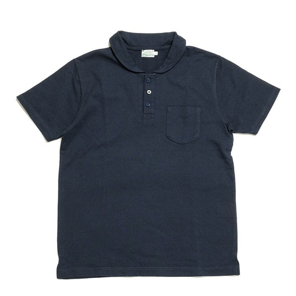 BURGUS PLUS ショールカラー ポロシャツ HBP-011 hinoya-ameyoko 11