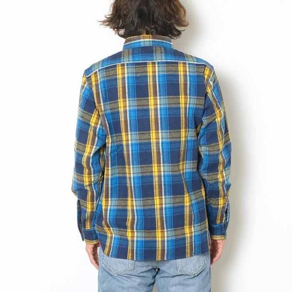 SUGARCANE(シュガーケーン) ツイルチェック 長袖ワークシャツ SC28238|hinoya-ameyoko|07