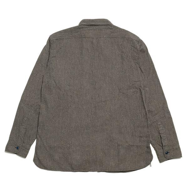 SUGARCANE(シュガーケーン) フィクションロマンス 6.5オンス インディゴ ビーチクロス ワークシャツ SC28283|hinoya-ameyoko|09