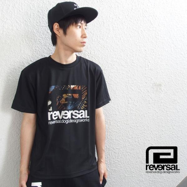リバーサル Tシャツ reversal 半袖 メンズ ドライ BUTTERFLY BIG MARK DRY TEE|hiphopdope|14