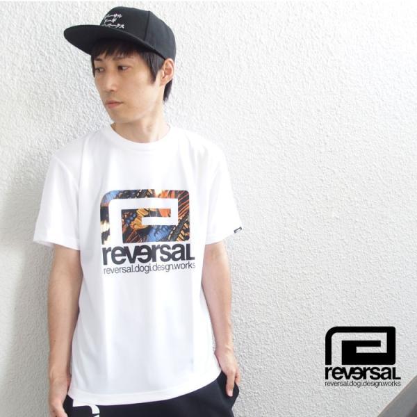 リバーサル Tシャツ reversal 半袖 メンズ ドライ BUTTERFLY BIG MARK DRY TEE|hiphopdope|13