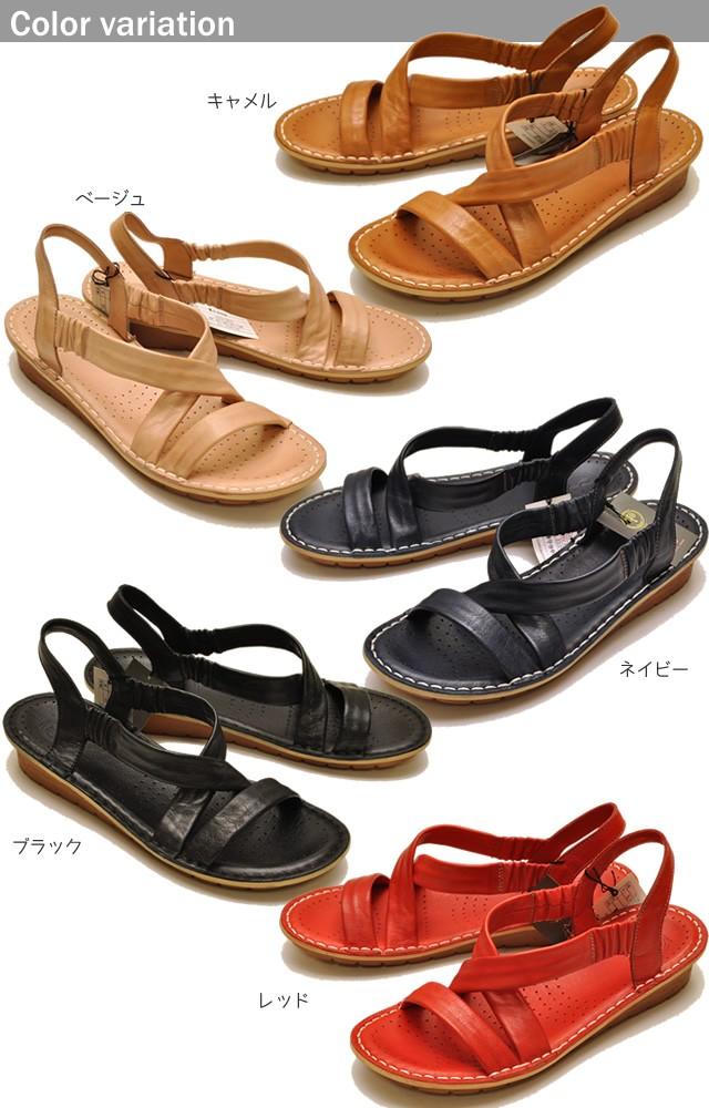 YOSUKE U.S.A ヨースケ  本革フラットサンダル靴