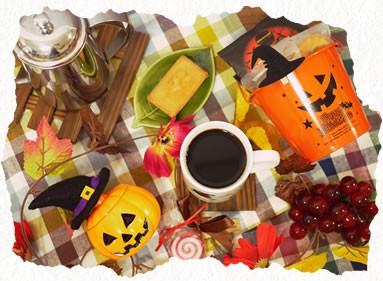 ヒロコーヒーのハロウィン特集コーヒーギフトハロウィンブレンドドリップコーヒー
