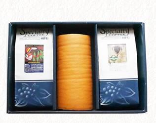 ヒロコーヒーしっとり生地のロールケーキ絹ロール
