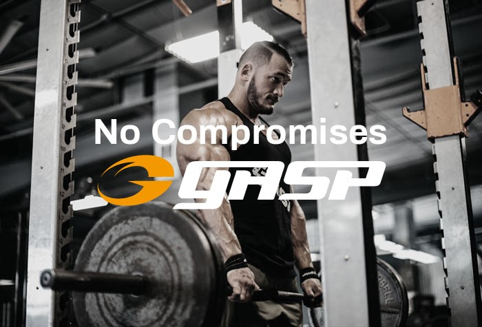 GASP No Compromiseバナー
