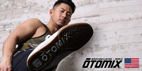 シューズ オートミックス OTOMIX 靴 バッシュ 筋トレ ウエイトトレーニング ボクシング 格闘技 フラットな靴底 踏ん張る感覚がつかみやすい
