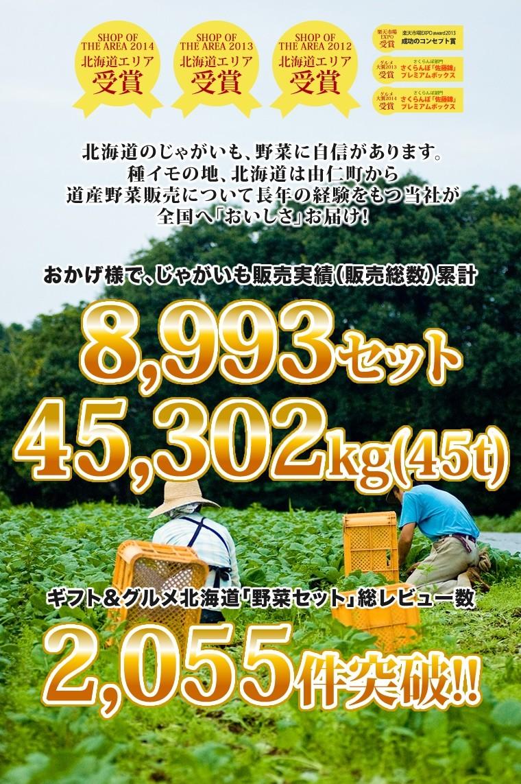 ギフト&グルメ北海道実績2