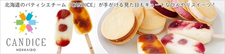 北海道のパティシエグループ『CANDICE』が手がける見た目もキュートなアイススイーツ