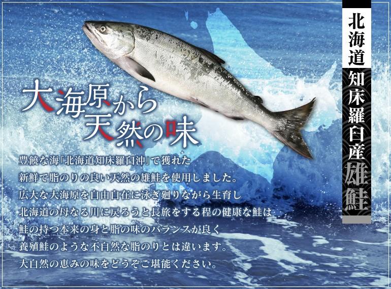 北海道の鮭解説