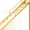 木製ロフトはしご