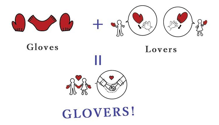 グローブ(GLOVE)+ラバーズ(LOVERS)=グラヴァーズGLOVERS