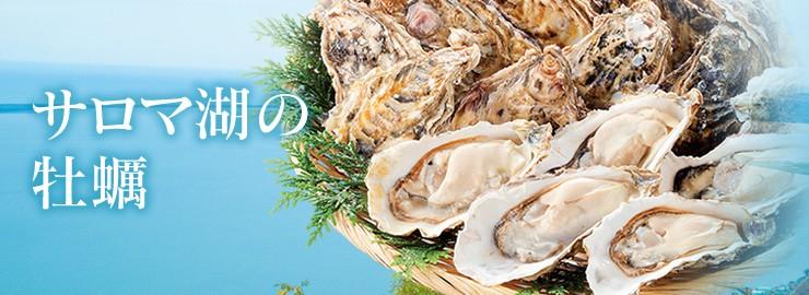 サロマ湖 牡蠣