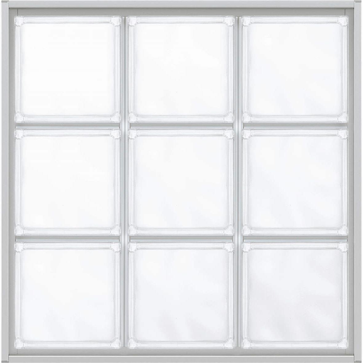アルミ枠採光窓