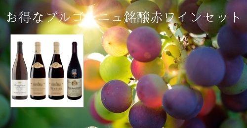 お得なブルゴーニュ銘醸赤ワインセット