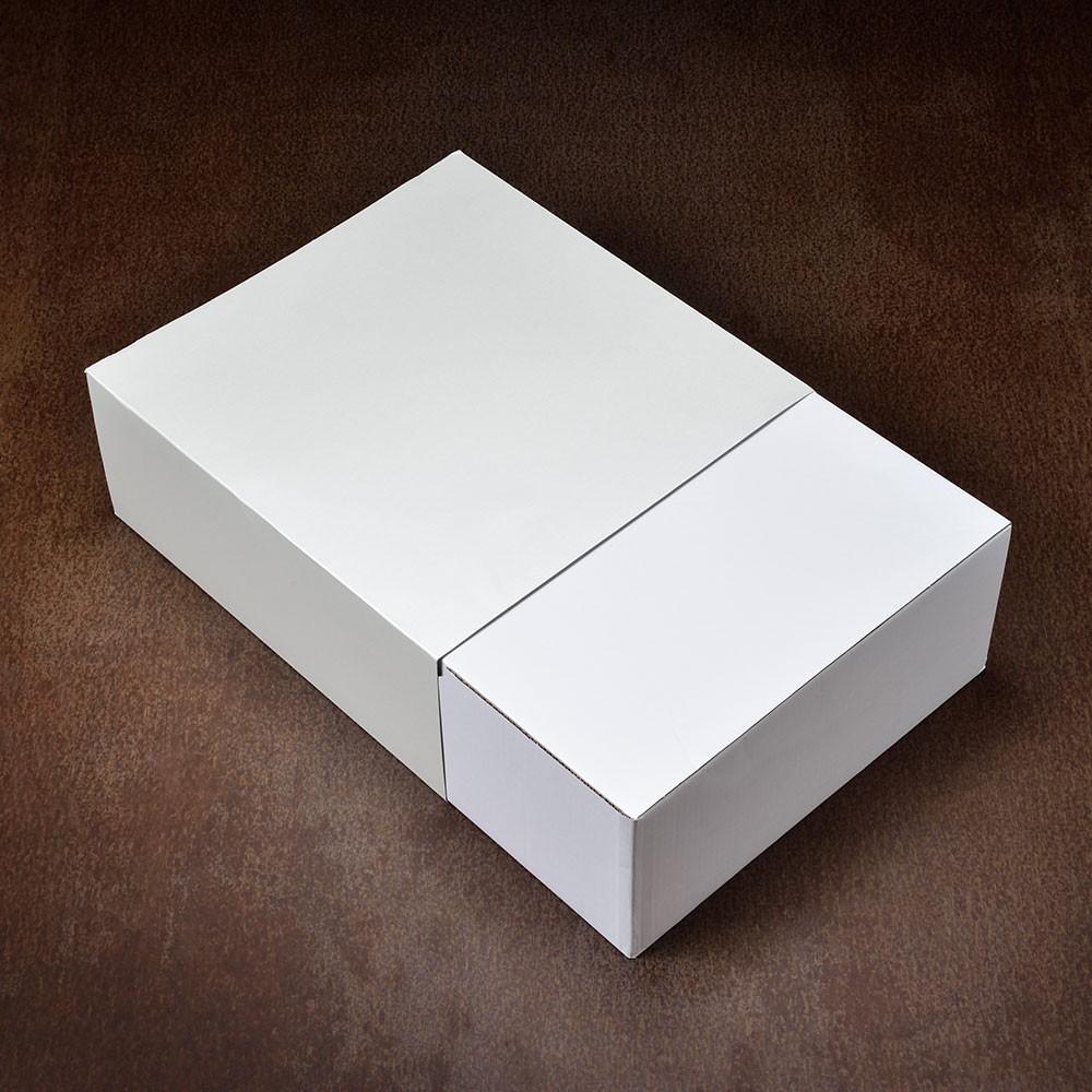 中折れハット系のギフト包装例