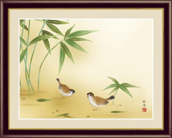 伝統の日本画