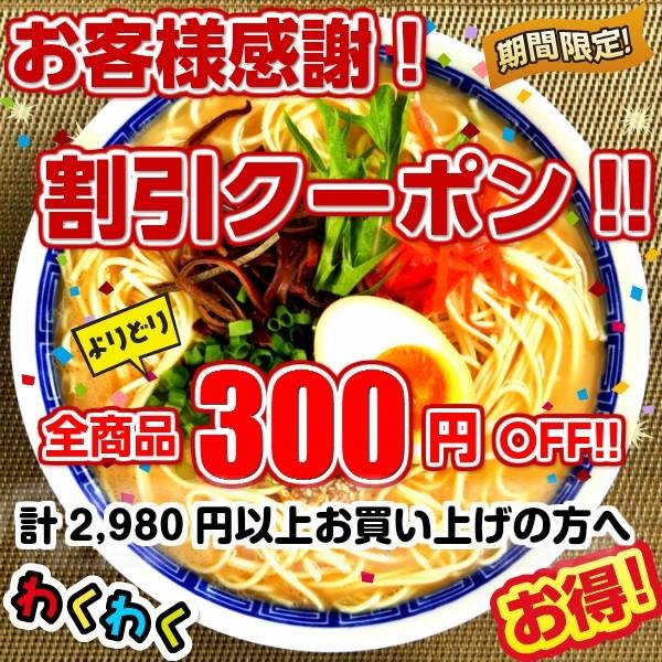 ≪大好評≫お客様感謝キャンペーン!合計2,980円以上でご利用頂ける!★300円OFF割引クーポン★