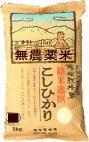 無農薬米大地の恵コシヒカリ