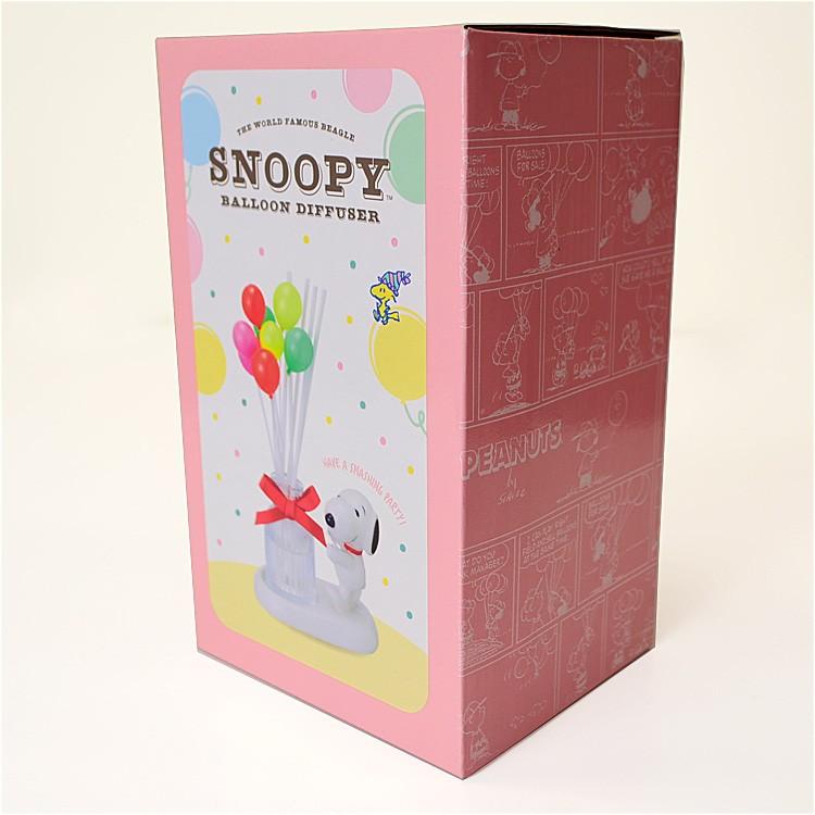 SNOOPY ディフューザー「バルーン」フローラルの香り ピーナッツ スヌーピー