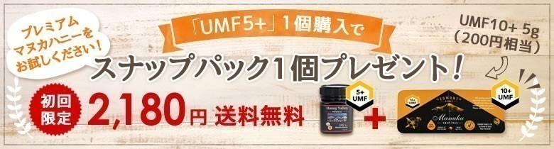 初回限定UMF5+