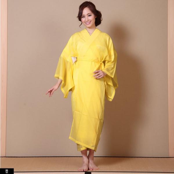 浴衣 夏着物用インナー レディース 襦袢(d1263) ユカタ ゆかた 和装 和服 女性 長じゅばん 夏 下着 肌着 衣装|hongkongmadam|23
