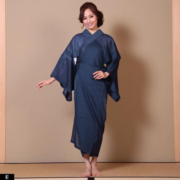 浴衣 夏着物用インナー レディース 襦袢(d1263) ユカタ ゆかた 和装 和服 女性 長じゅばん 夏 下着 肌着 衣装|hongkongmadam|19