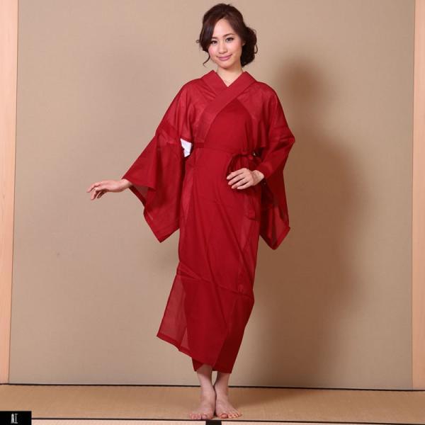 浴衣 夏着物用インナー レディース 襦袢(d1263) ユカタ ゆかた 和装 和服 女性 長じゅばん 夏 下着 肌着 衣装|hongkongmadam|21