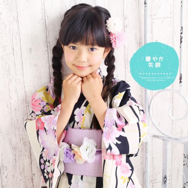 浴衣 子供 女の子 選べる キュートな 11柄 レトロ フラット キッズ 浴衣|hongkongmadam|22