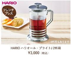 HARIO ハリオール・ブライトJ 2人用