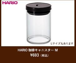 HARIO 珈琲キャニスターM