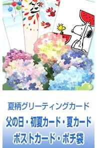 夏柄グリーティングカード