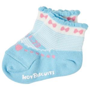 ホットビスケッツ ミキハウス 靴下 バレーシューズ風 ローカットソックス ピンク ブルー 11-13 13-15 15-17 17-19 HOT BISCUITS|hotbiscuits|15