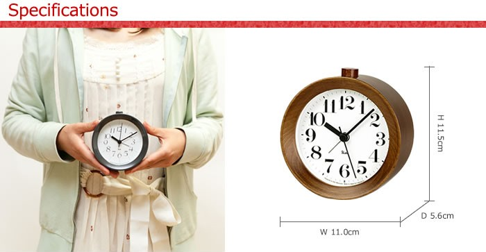 リキクロック アラーム時計4