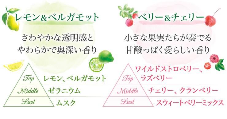 新鮮フルーツと摘みたてハーブ 6つの香りのハーモニー