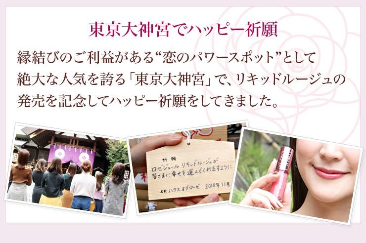東京大神宮でハッピー祈願