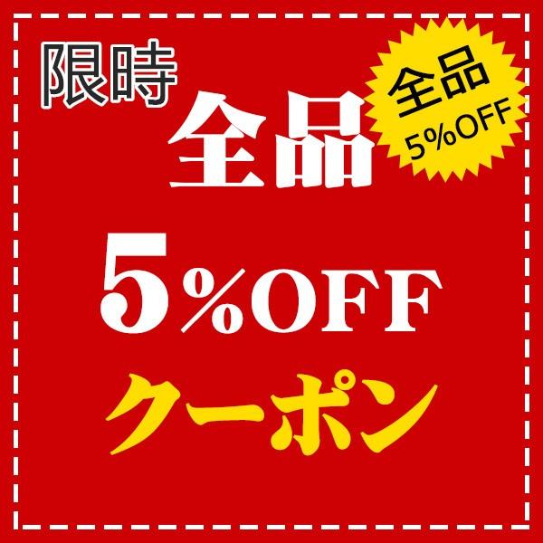 【5%OFF】特別クーポン配布中!