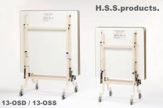 13-OSD  折りたたみ作業台(立ち仕事用) 大型1200×2400×高さ740