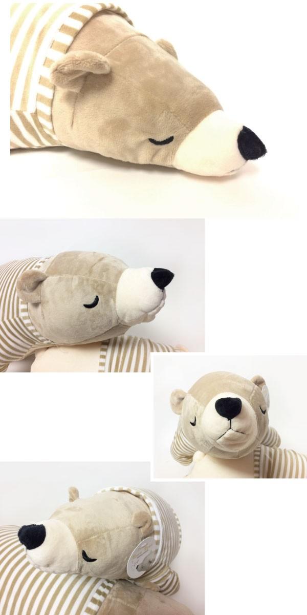 かわいい癒し系の 熊クッション M