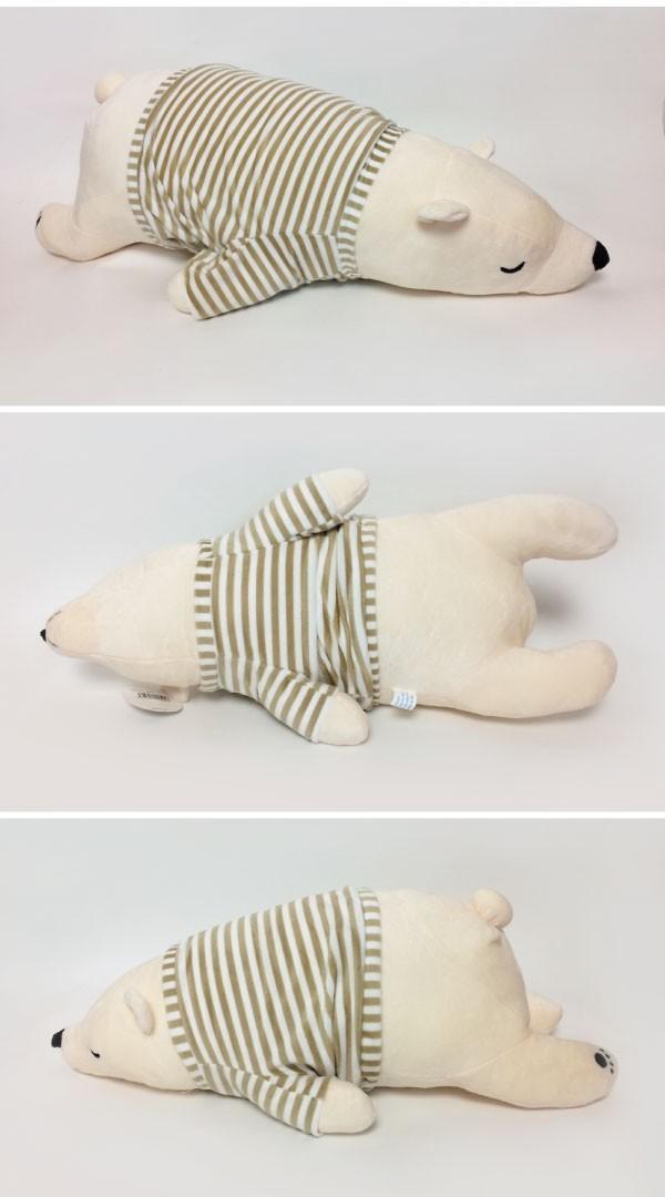 かわいい癒し系の 熊クッション L