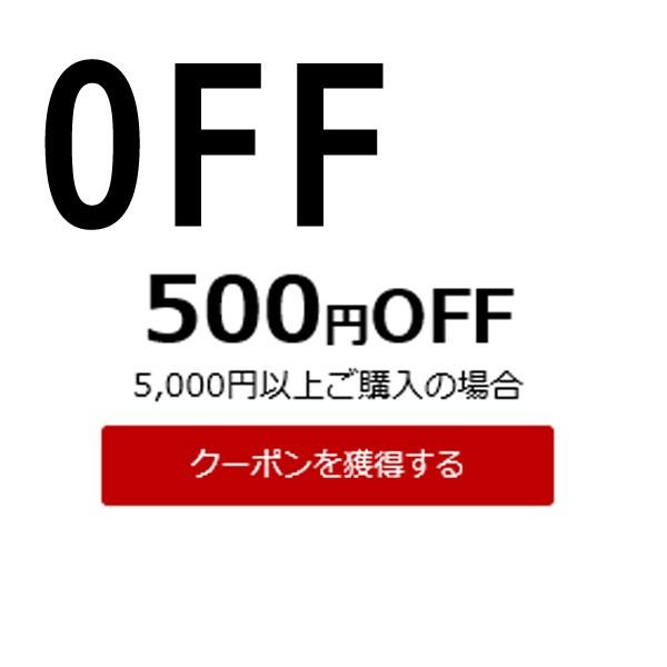 店内で5000円以上購入で使える500円OFFクーポン