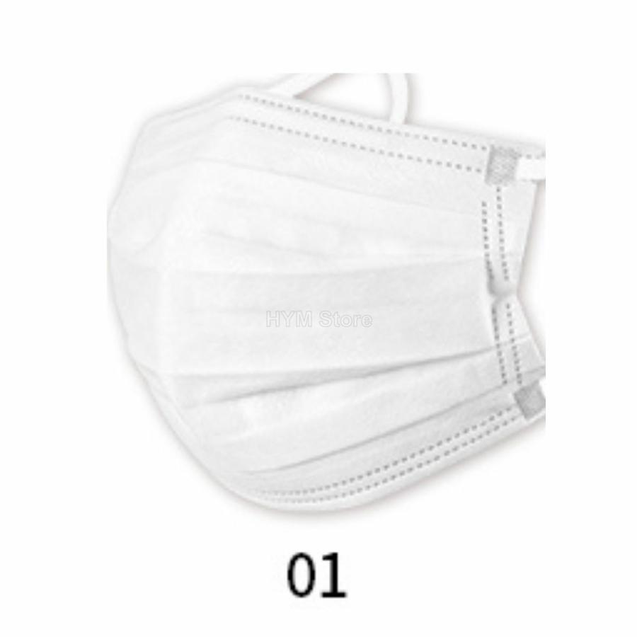 マスク 不織布 夏用 冷感マスク 血色マスク パステル 165mm カラー ふつう 50枚 平ゴム|hymstore|10