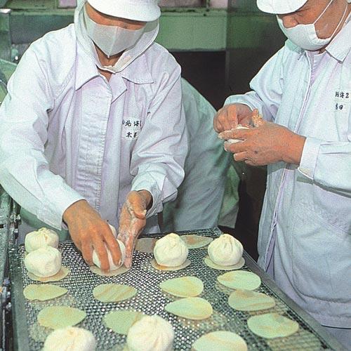 神戸南京町皇蘭神戸牛100%使用 神戸牛肉まんとパッケージ