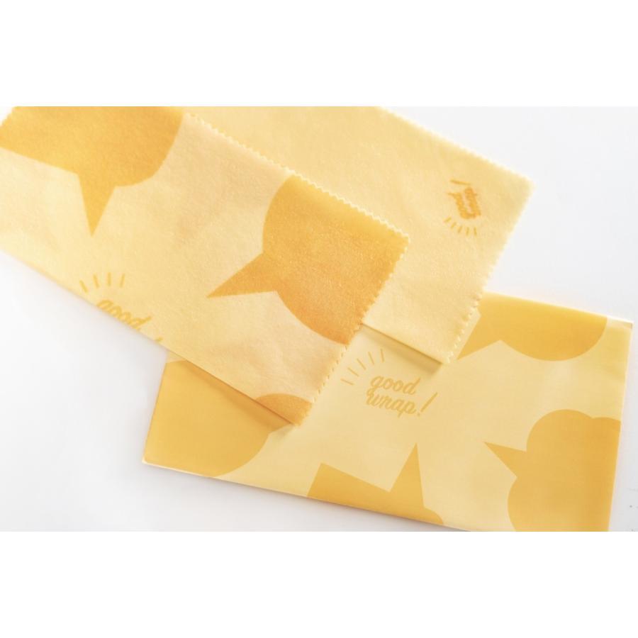 みつろうラップ 蜜蝋 ミツロウ エコラップ 国産 2枚セット おしゃれ good wrap!|i-crtshop|17