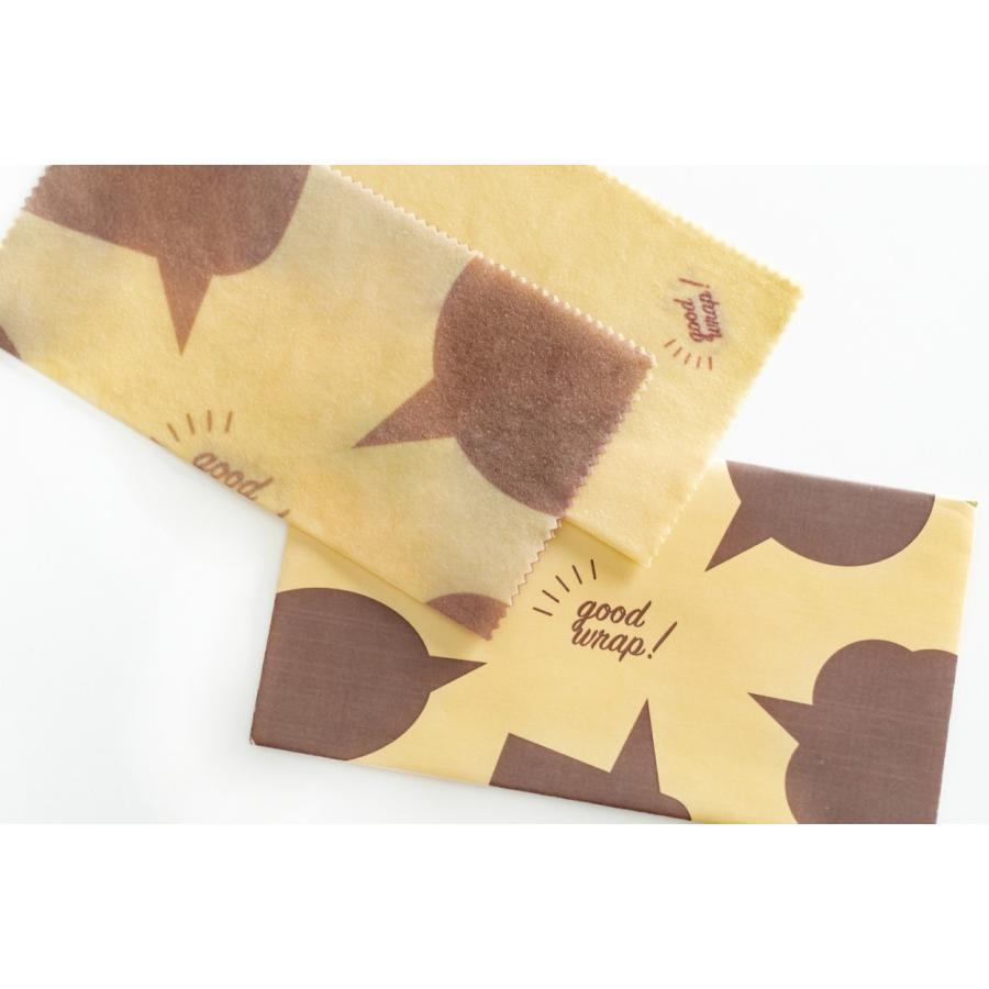 みつろうラップ 蜜蝋 ミツロウ エコラップ 国産 2枚セット おしゃれ good wrap!|i-crtshop|16