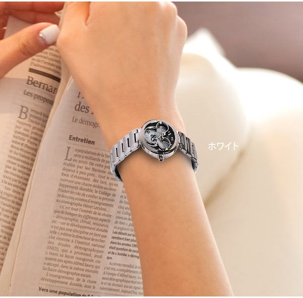 腕時計着けた画像