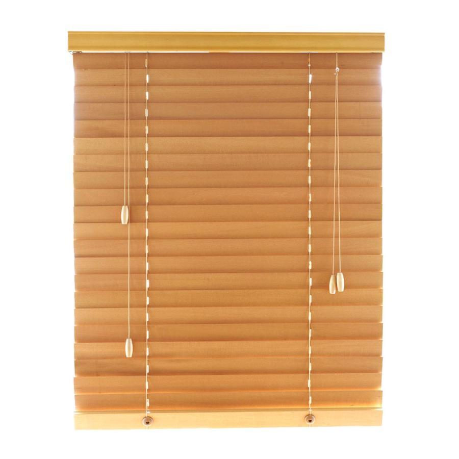 ブラインド ブラインドカーテン 木製ブラインド 木製 横型 ウッドブラインド オーダー 遮光 スラット50mm 幅34〜200cm 高さ31〜230cm (幅1cm単位)1年保証 i-mixon 21
