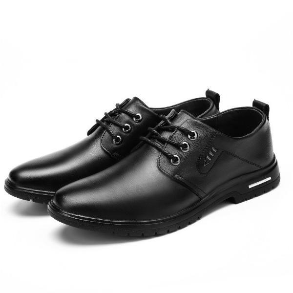 ビジネスシューズ メンズ 紳士靴 防滑ソール 紐靴 PU|i-tonya|20
