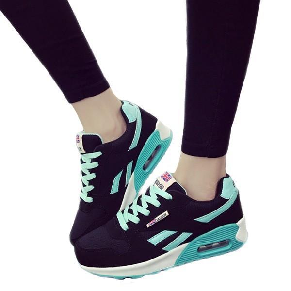 ウォーキングシューズ スポーツシューズ スニーカー ランニング エアソール 歩行姿勢調整 矯正靴 ダイエット メッシュ 合皮 2タイプ(ciq120) i-tonya 21
