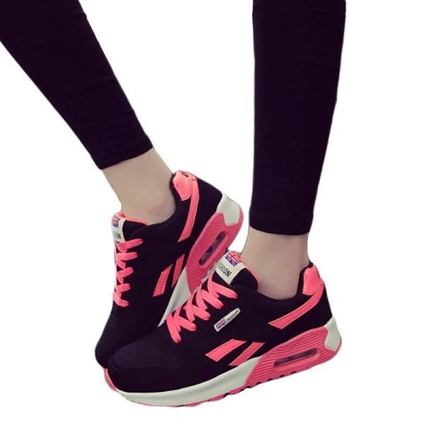 ウォーキングシューズ スポーツシューズ スニーカー ランニング エアソール 歩行姿勢調整 矯正靴 ダイエット メッシュ 合皮 2タイプ(ciq120) i-tonya 22